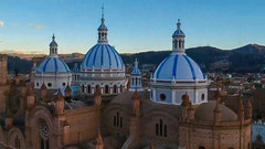 New Cathedral - Cuenca (antoinebarthelemyphoto) Tags: cuenca djispark ecuador southamerica droneview fineartphotography latinamerica travel travelphotography droneimage dronephoto architecturephotography church religion sstreetphotography landmark
