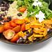 Nahaufnahme von der Hello Fresh - Kubanischen Quinoa Bowl