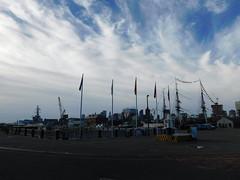 DSCN7426 (jimmywayne) Tags: boston middlesexcounty charlestown shipyard nationalhistoricalpark massachusetts skyline oldironsides uss constitution historic