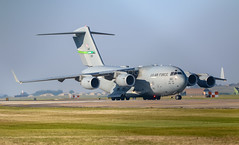 C-17 Arrives Lakenheath (cjf3 - f15tog) Tags: c17 usaf usaflakenheath mcchordafb cargo jetengines transportaircraft 62ndaw canon 5d3 7dmk2