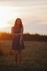 Kate (Michal Jeska) Tags: portrait female girl woman sunset canon eos 5d mark ii canonef200mmf28liiusm 200mm 28 prime primepipe