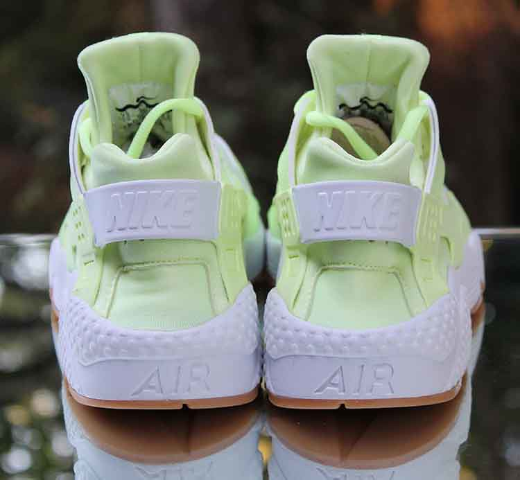 12572e274491 Nike Air Huarache Run Women s Barely Volt Gum 634835-702 Size 7.5  (reddealsonline)