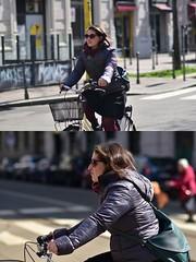 [La Mia Città][Pedala] (Urca) Tags: milano italia 2018 bicicletta pedalare ciclista ritrattostradale portrait dittico bike bicycle nikondigitale scéta 115912