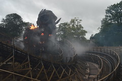 The Smouldering Wicker Man (CoasterMadMatt) Tags: altontowers2018 altontowersresort2018 altontowers altontowersresort alton towers resort themepark amusementpark theme amusement park parks englishthemeparks rollercoasters rollercoaster roller coasters coaster ride rides englishrollercoasters rollercoastersinengland wickerman wicker man newrollercoasterfor2018 newridefor2018 staffordshiremoorlands staffordshire staffs themidlands westmidlands midlands england britain greatbritain great gb unitedkingdom uk united kingdom august2018 august summer2018 summer 2018 coastermadmattphotography coastermadmatt photos photographs photography nikond3200