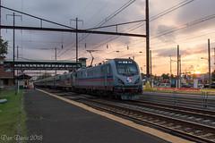 SEPTA Train 9747 @ Levittown, PA (Dan A. Davis) Tags: passengertrain railroad locomotive train levittown pa pennsylvania septa acs64 spax