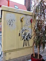 Exit Enter / Kortrijkespoortstraat - 14 okt 2018 (Ferdinand 'Ferre' Feys) Tags: gent ghent gand belgium belgique belgië streetart artdelarue graffitiart graffiti graff urbanart urbanarte arteurbano ferdinandfeys exitenter