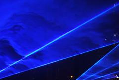 The Bentway (Marcanadian) Tags: toronto ontario canada bentway gardiner expressway downtown fort york waterlicht art light installation performance daan roosegaarde climate change water october fall autumn