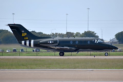 US Air Force Beechcraft T-1A Jayhawk (DPhelps) Tags: kafw afw alliance fort worth texas air show vapor airshow jet airplane plane aircraft bell 2018 clouds ap 940115 special heritage decal retro dday invasion stripes pensacola nas t1 jayhawk 94115