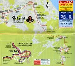 03.2006 Map (Callum's Buses and Stuff) Tags: edinburghbus lothian bus buses lothianbuses busesedinburgh edinburgh timetable 33a 3a 3