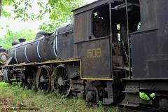 I_B_IMG_0591 (florian_grupp) Tags: asia myanmar burma train railway railroad yangon rangoon myanmarailways southeast metergauge metregauge 1000mm diesel locomotive scrap yard steam vulcan foundry pyuntaza shed