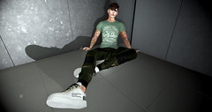 Stuck in the lift (xcraigwilliamx) Tags: secondlife fashion blog blogger mesh bento catwa signature signaturegianni gianni modulus modulushair letre shoes shirt pants gay sl vr 3d portrait model catwadaniel straydog second life mydigitalmirror digitalmirror men boy male fun photos pictures pics virtualmodel uber uberevent hevo native nativeurban backdropcity