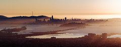 Setting Sun Over San Francisco Bay (Graham Gibson) Tags: sony a7rii voigtlander m42 180mm f4 lanthar cl apo