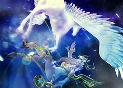 wish-01 (fuji.SL.JP) Tags: secondlife sl sljp angel unicorn girl fantasy halfdeer alchemy zenith cubiccherry tableauvivant {anc}