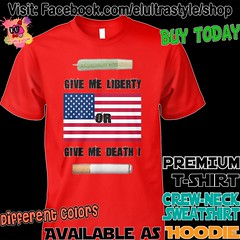 Give me Liberty Ad (El Ultra Style) Tags: weed marijuana puffpuffpass hempfest blaze cannabis potleaf pot flag america freedom unitedstates usa tobacco nicotine usflag americanflag american thisisamerica cigarette tshirt hoodie weedporn hemp hempoil hempclothing bong vape blunt joint doobie 420life 420blazeit cannabiscommunity cannabisart smokeweedeveryday