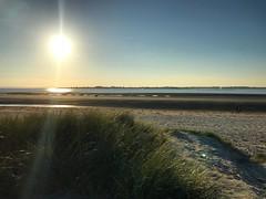 Sundown From The Dunes (Marc Sayce) Tags: sunset sundown sand dunes east head national trust west wittering sussex autumn october 2018