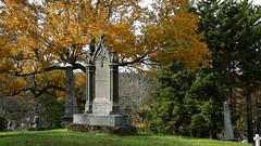 Fernhill Cemetery October 2018 7069 16x9 b (DaveyMacG) Tags: saintjohn newbrunswick canada fernhill cemetery autumn fall