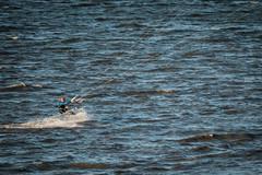 Kite Surfer (g_heyde) Tags: kitesurfer kiteboarding action riverelbe cuxhaven kitesurfing xpro2 fun water wind sea