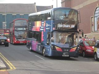 Go North East 6309 (NK67 ECE). Eldon Square Bus Station, Newcastle
