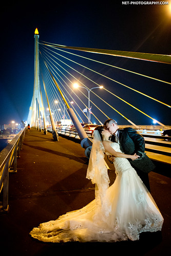 Rama VIII Bridge Bangkok Thailand Wedding Photography