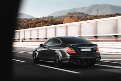 C63 (Ste Bozzy) Tags: mercedes benz cclass cklasse c63 amg mercedesbenz mercedesc63 mercedescclass mercedesw204 mercedesc63w204 mercedesc63amg mercedesamg c63amg v8 rolling german saloon car automotive icon highway italianhighway tuscany landscape toscana italy 19bozzy92