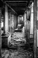 Rusty places 2 (FotoGrafiche FS) Tags: rust rusty places bw a6500 sony apsc emount italy old horror fear