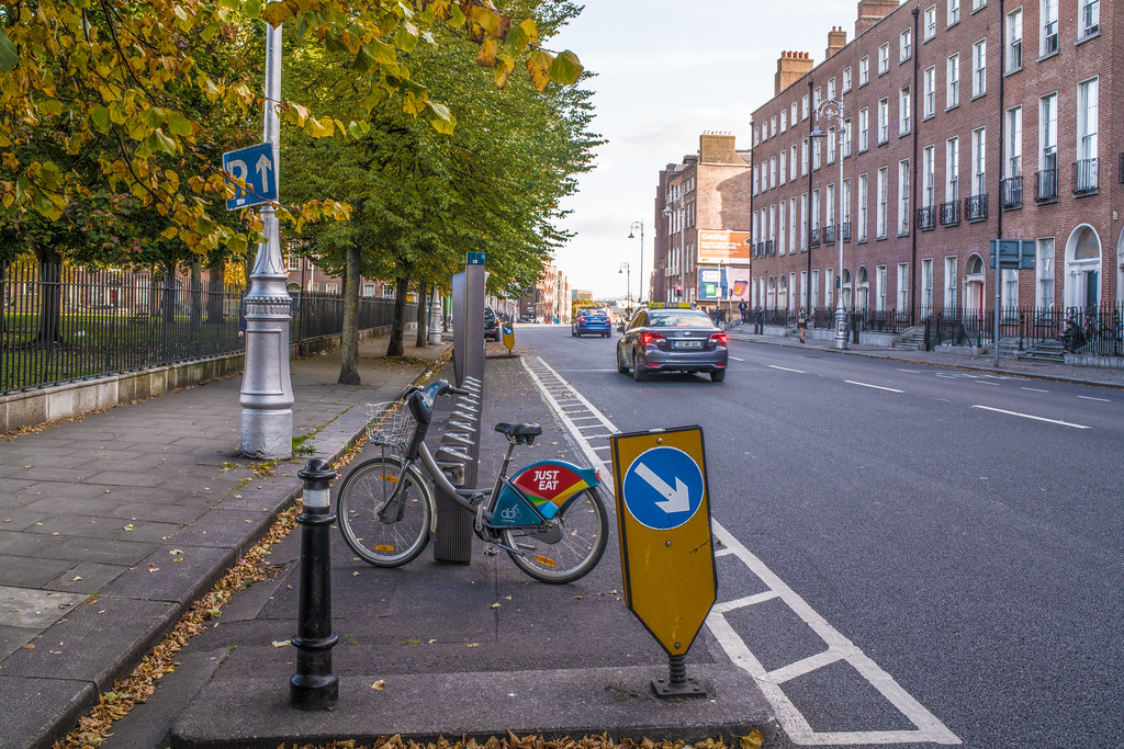 DUBLINBIKES DOCKING STATION No 28 [WEST MOUNTJOY SQUARE]-144905