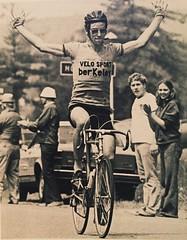George Mount   Winner at Saranac Lake Olympic road trials 1976 (105 miles 3:54:57) (ddsiple) Tags: saranaclake 1976 georgemount cycling