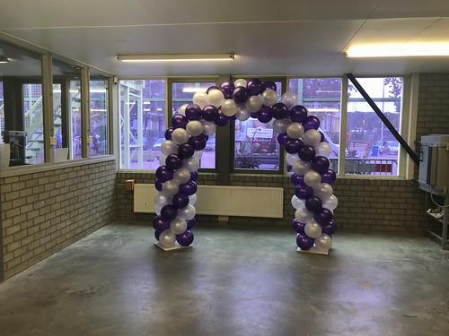 Ballonboog 5m Diplomering Geslaagd Edudelta College Barendrecht