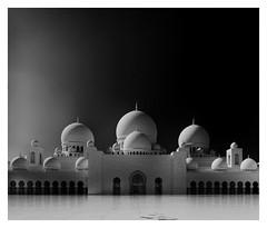 Sheikh Zayed Grand Mosque in B&W #3 (T.Seifer : )) Tags: blackandwhite blackwhite architecture arcade travel beautiful tourism building abu dhabi uae mosque monochrome sheikh zayed outdoors fx whiteandblack whiteblack outside religion view