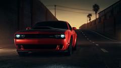 Dodge Challenger (partsavatar) Tags: cars classic vintage autoparts carparts canada vancouver montreal toronto dodge challenger dodgechallenger red redcars