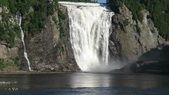 Mighty Montmorency Falls (moonjazz) Tags: waterfall video quebec canada water nature travel montmorency power cascade mighty awe wonder thunderous spectacular daytrip falling photography moonjazz big wild amazing
