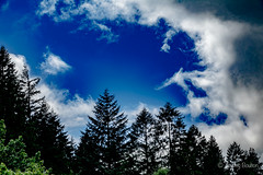 Sky's the Limit (JKmedia) Tags: welsh landscape northwales snowdonia snowdonianationalpark countryside clouds sky green mountains boultonphotography 2018 sonyrx10iii dramatic scenery weather