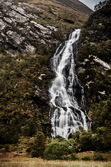 Steall (amcgdesigns) Tags: andrewmcgavin eos7dmk2 sigma1850mmf28 lochaber local fortwilliam waterfall glennevis steall autumn landscape scotland scottishlandscape