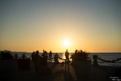 Dreamy Lake Erie Sunset (yarnim) Tags: sunset lakeerie lake water ohio cleveland voinovichbicentennialpark outoffocus sony sel55f18z carlzeiss a7m3 a7iii ilcea7m3 55mm landscape horizon shadow sun sky skies