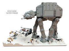 Echo Base Outer Fringe 2 (Rubblemaker) Tags: moc lego starwars star wars toys building blocks atat hoth