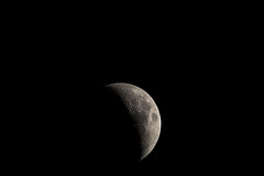 11-13-18 Waxing Crescent (SeeMoreAlice) Tags: moon luna craters waxing astrophotography astronomy lunarphotography