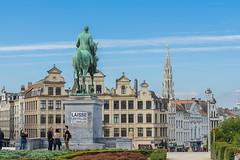 Bruxelles - Mont des Arts - Rey Alberto I (Ventura Carmona) Tags: bélgica belgium belgien belgique belgië brüssel bruselas bruxelles brussel montdesarts alberti rey roi king könig venturacarmona