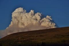 Fire made weather (Craig Waythomas) Tags: snowymountainfire cathedrallakesprovincialpark britishcolumbia keremeos lakeofthewoods wildfire forestfire
