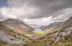 Breathtaking (Captain Nikon) Tags: fleetwithpike buttermere crummockwater lakes thelakedistrict lakedistrict cumbria england englandsfinestviews valley fells moody panoramic stitched breathtaking memorable hike majestic ribbonlake landscapephotography