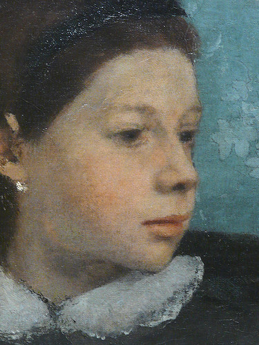 DEGAS Edgar,1858-67 - La Famille Bellelli (Orsay) - Detail 22