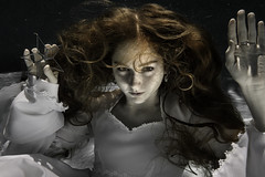 Stella Maris (R J Poole - The Anima Series) Tags: poole rjpoole lismore nsw australia art photographic fine artist photography prime lens leica leicas medium format portrait portraiture people anima series unusual strange dark low light studio lighting ringlight emotive emotional raw emotion original creative contemporary modern preraphaelite digital photoshop adobe haunting beautiful surreal surrealism artistic innovative jung jungian psychological psychology symbolic symbolism face female feminine storytelling soulful mystery mystic mysterious esoteric gothic goth underwater