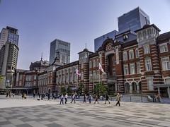 Tokyo Station, Marunouchi Building (mutovkin) Tags: architecture g9 japan lumix lumixg9 marunouchibuilding panasonic panasonicg9 tokyo tokyostation travel spring