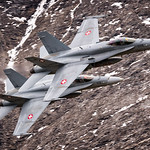 Swiss AirForce F/A-18 Hornets thumbnail