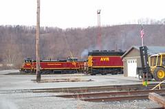 Carload Express 1552 (Fan-T) Tags: avr glenwood pa bo emd gp40 1552 mp15 carload express 1554