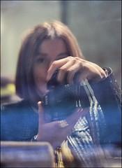 * (PattyK.) Tags: snapseed nikond3100 october 2018 οκτώβριοσ ιωάννινα ελλάδα ioannina greece grecia griechenland hellas ellada me myself selfie reflection selfportrait εγώ αντανάκλαση γυναίκα woman