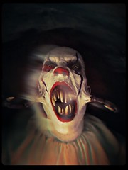 A Very Pissed-Off Pennywise (Captain Creepy) Tags: pennywise it clown teeth moreteeth