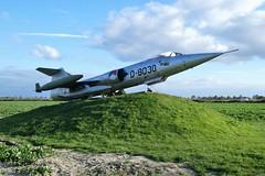 Lockheed F104G Starfighter (big moustache) Tags: lockheed starfighter f104g sirjansland zeeland zélande nederland netherlands paysbas