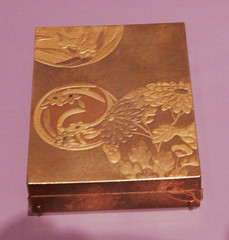 Lacquer Box with Flowers (ups travel pics 4u) Tags: lidded lacquer box flower design marieantoinette japanese