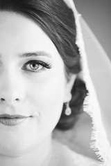 beauty (Baltimore Wedding Photographer) Tags: wedding boda johnheredia reviews virigina hiltonmcleantysonscorner mclean virginia unitedstates us blackandwhite bw portrait bride vello veil eyes dreams