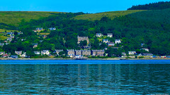 Scotland West Highlands Argyll the sleepy village of Kilcreggan 1 July 2018 by Anne MacKay (Anne MacKay images of interest & wonder) Tags: scotland west highlands argyll sea coast village kilcreggan landscape 1 july 2018 picture by anne mackay